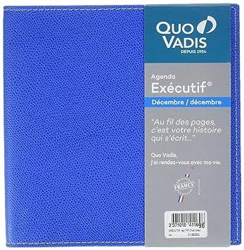 Quo Vadis Club - Executif - Agenda Civil semanal 16 x 16 cm ...