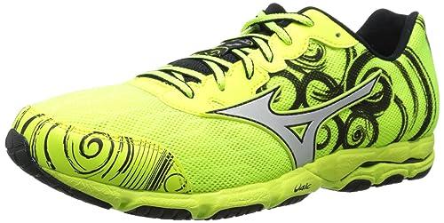 | Mizuno Men's Wave Hitogami 2 Running Shoe, Neon