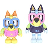Bluey - Pool Time: Bluey & Bingo 2.5 inch Figures - 2 Pack