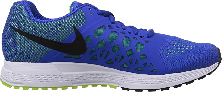 Nike Air Zoom Pegasus 31 Wide - Zapatillas de running de sintético para hombre, Azul - Blue (Hyper Cobalt/Black/Volt), 6,5 UK: Amazon.es: Zapatos y complementos