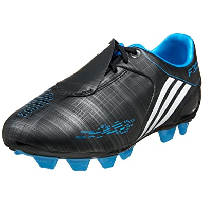 adidas F30 I TRX FG Soccer Cleat (Little Kid/Big Kid),Black