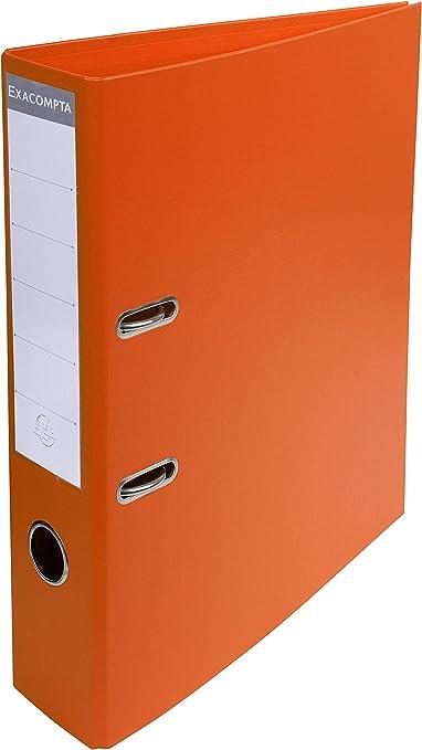Exacompta 53744E - Carpeta (Conventional file folder, Caja de cartón, Naranja, A4, 320 mm, 290 mm): Amazon.es: Oficina y papelería