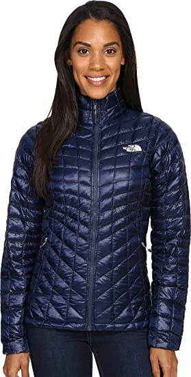 e07caf9e9695 The North Face Thermoball Full Zip Jacket Women s Cosmic Blue Arctic Ice  Blue Small