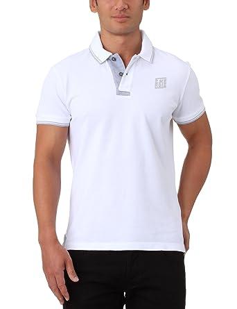 2d983071397 Energie Lacker - Polo MC - Homme - Blanc - XL  Amazon.fr  Vêtements ...