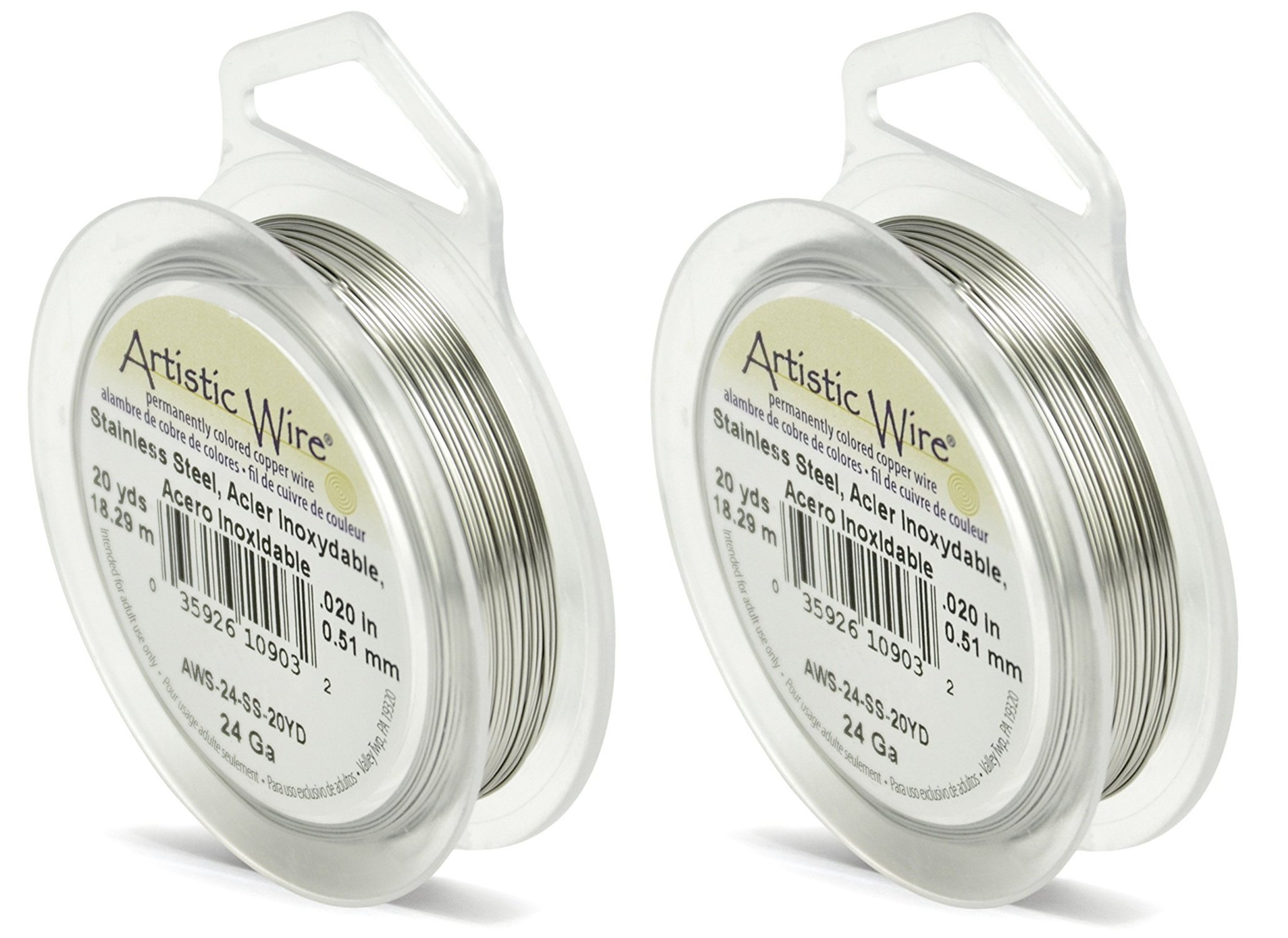 39.3 Artistic Wire 12 Gauge Round Anodized Aluminum Craft Wire Rose