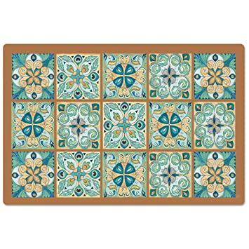 Buy Counter Art Moroccan Tiles Anti Fatigue Floor Mat 30 X 20 Online At Low Prices In India Amazon In