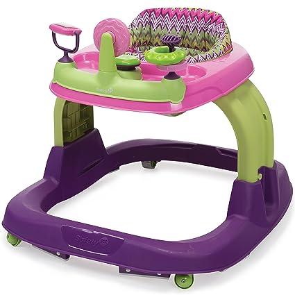 Safety 1st Ready Set Walk 2 0 Developmental Walker Hi Fi Purple