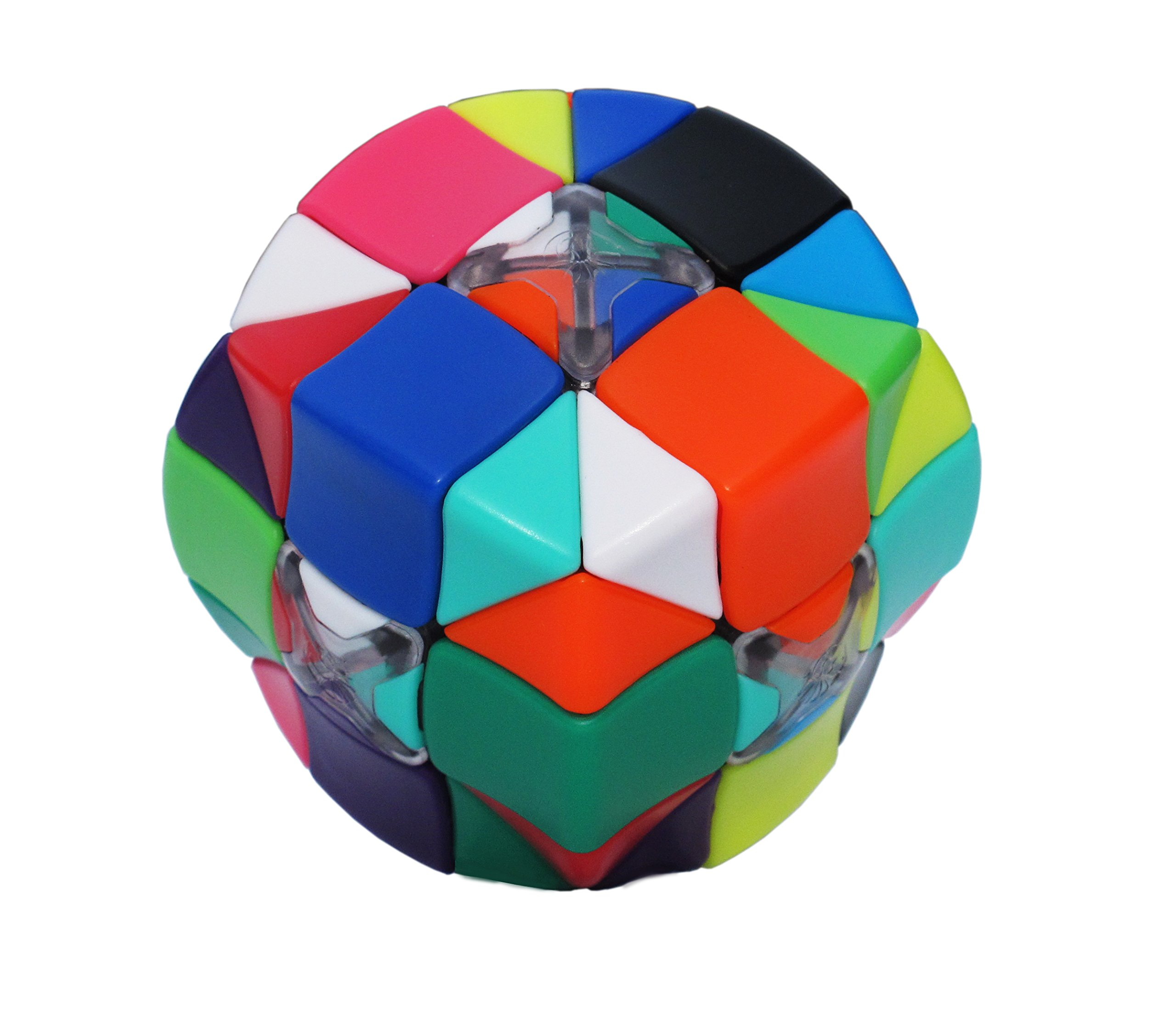 Armadillo Cube: Smooth turning - Stickerless - 12 Candy Colors - Resettable - Awesome Brain Teaser - Advanced 3x3x3 Puzzle - Brand New Challenges - 100% Money Back Guarantee! by Armadillo Cube (Image #5)