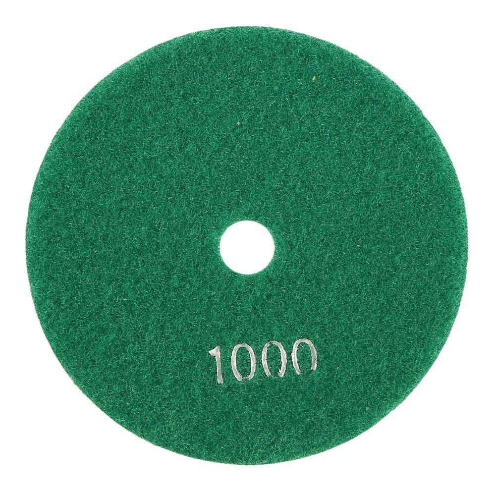 Size : 150# Delaman 5 125mm Diamant Polierscheiben Schleifscheibe f/ür Granit Marmor