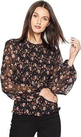 J.O.A. Women's Blouson Sleeve Top