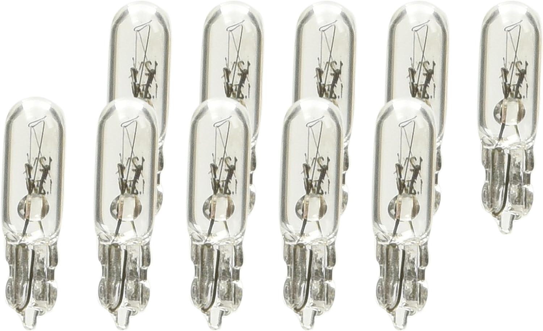 10 Pezzi Lampa 58091 Set Lampadine Zoccolo Vetro