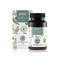 Zinc Tablets - 365 Servings for a 12 Months Supply. 25 mg Zinc Per Tablet. Highly Bioavailable Zinc-bisglycinate (Zinc Chelate). Laboratory Tested. Free of Gelatin and Magnesium Stearate. Highly Dosed, Vegan and Made In Germany