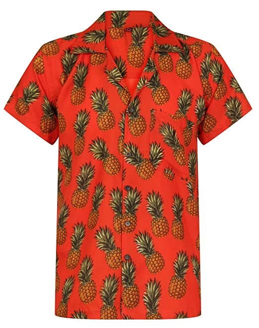 04ccc80f403 Hawaiian Shirt Pineapple Shirt Mens Aloha Hawaii Holiday Beach Stag Juice  BBQ Beer Summer Tropical Fruit Vintage Clothing Classic S M L XL XXL  ...