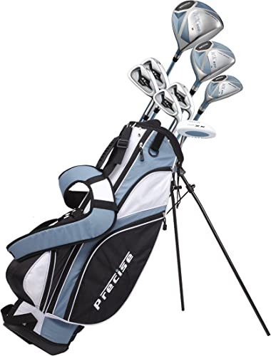 Ladies Petite Complete Golf Club Set Ladies, Right Hand, Light Blue, -1-inch Custom Made for Women 5 0 -5 5