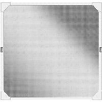 Schellenberg 50742 insectenwerende ramen, REFLECTION vliegenhor met magneetframe zonder boren – 100 x 120 cm in wit