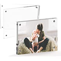 Mammoth Clear Acrylic Picture Frame, Double Sided Glass Frame, Great for Photo Frame 4x6-1 Pack 4346800897