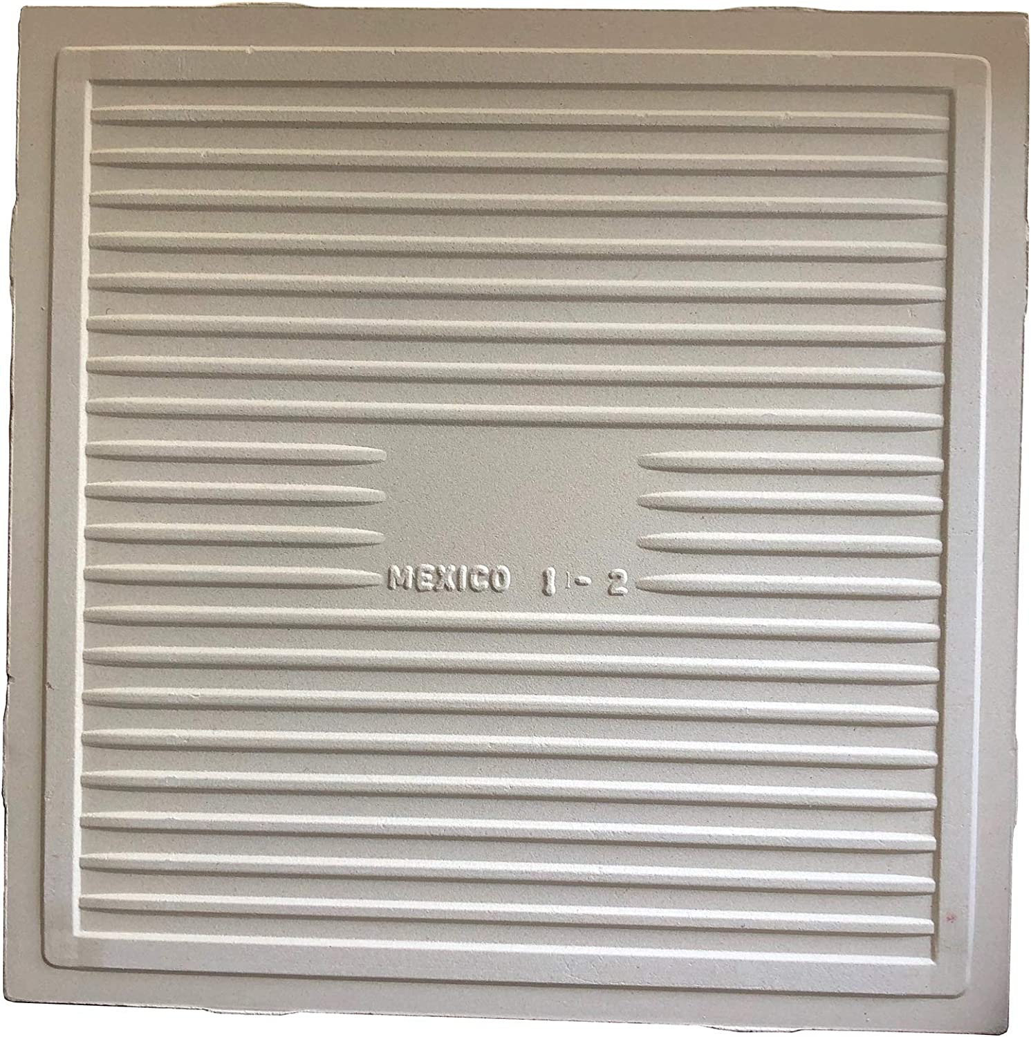 6, 5 White Bisque Blank White Ceramic Tiles Project Pack Unfinished Square Art Craft Ready to Create