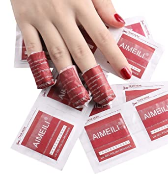 Amazon Com Aimeili Nail Polish Remover Soak Off Gel Nail Polish