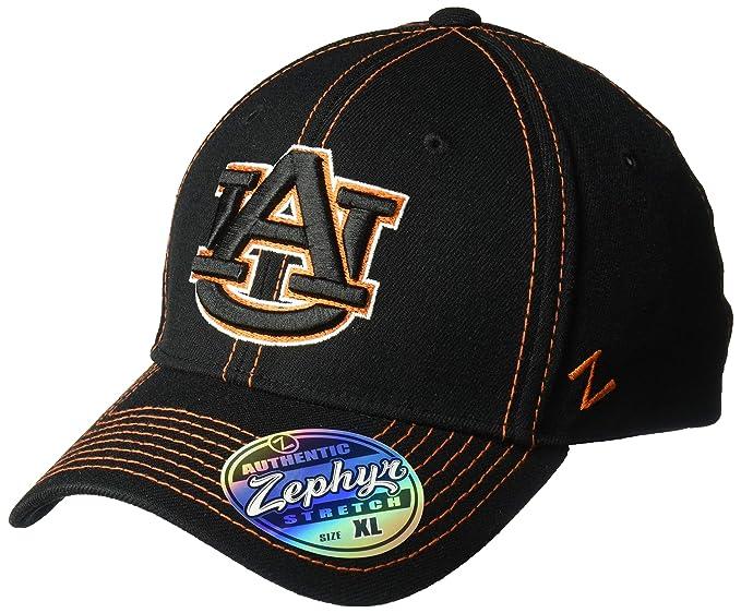 879802e0b7af16 NCAA Auburn Tigers Men's Finisher Z-Fit Cap, Medium/Large, Black