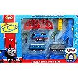 Vaibhav (JBP XPREZA) MC Thomas Battery Operated Toy Train Track Set + Over-Bridge + Tunnel