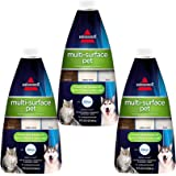 BISSELL Multi Surface Pet Floor Cleaning Formula 3 Pack Green