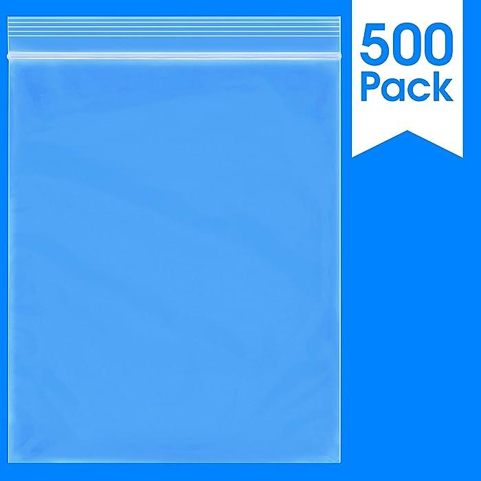 The Best 25X10 Inch Food Safe Zip Bags