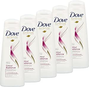 Dove Nutritive Solutions Shampoo Colour Radiance  5 x 320ml