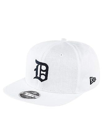 90b50ab4b9af6a New Era Men Caps/Snapback Cap Linen Felt Detroit Tigers Cooperstown White  S/M: Amazon.co.uk: Clothing