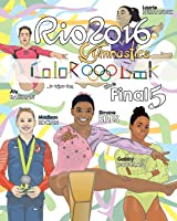 RIO 2016 Gymnastics Final Five Coloring Book For