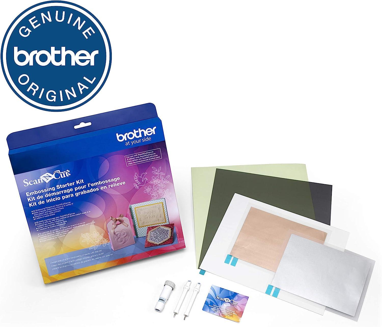 Brother caebskit1 Embossing Starter Kit: Amazon.es: Hogar