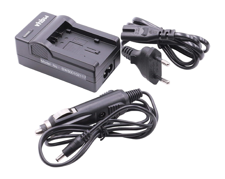 Akku Dual Ladegerät für Panasonic VW-VBK180 VW-VBK180EK VW-VBK360 90109-90366 