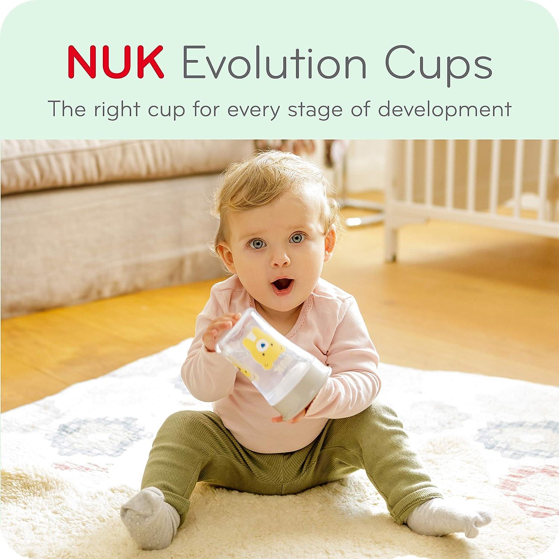 8oz 1pk NUK Evolution Learner Sippy Cup Blue
