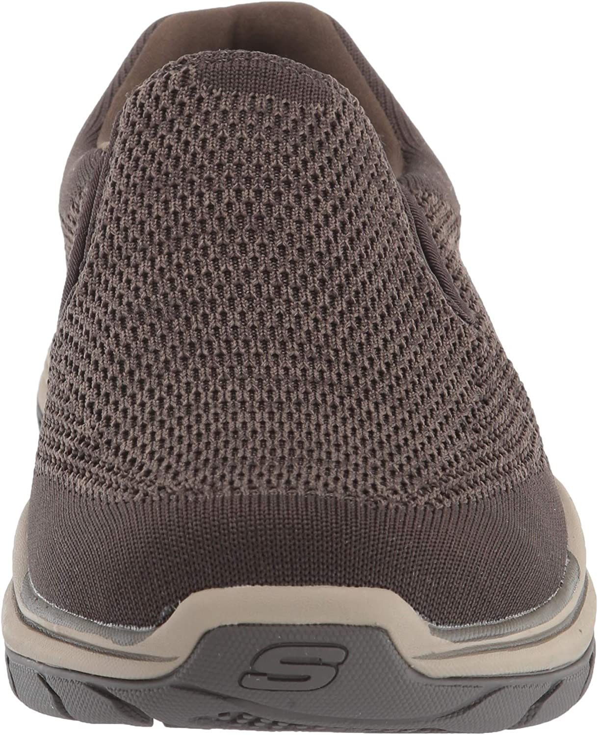Skechers mens 204000 Expected 2.0 - Arago Slip on Canvas Olive Brown