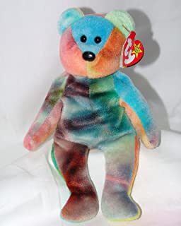 c8765418ffa Amazon.com  TY Beanie Baby - GARCIA the Ty-dyed Bear (4th Gen hang ...
