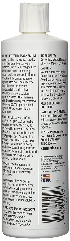Kent Marino 00412 Tech M magnesio, 16-ounce botella: Amazon.es: Productos para mascotas