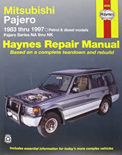 mitsubishi pajero automotive repair manual haynes automotive repair rh amazon com User Manual Operators Manual