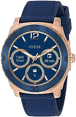 Amazon.com: Guess de los hombres Connect Smart Watch ...