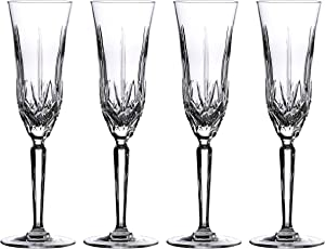 Waterford Marquis Maxwell Flute, Set of 4, Transparent