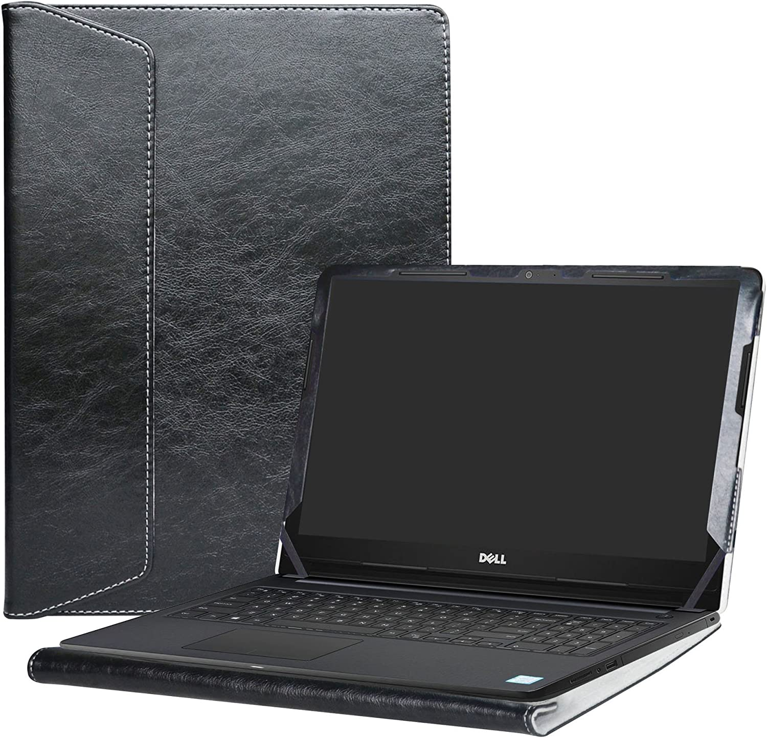 "Alapmk Protective Case Cover For 15.6"" Dell Inspiron 15 3593 3595 3585 3584 3583 3582 3581 3580 3573 3567 3565 3568 3576 3573 3551 3552 3558 Series Laptop(Note:Not fit 3542 3543 3541),Black"
