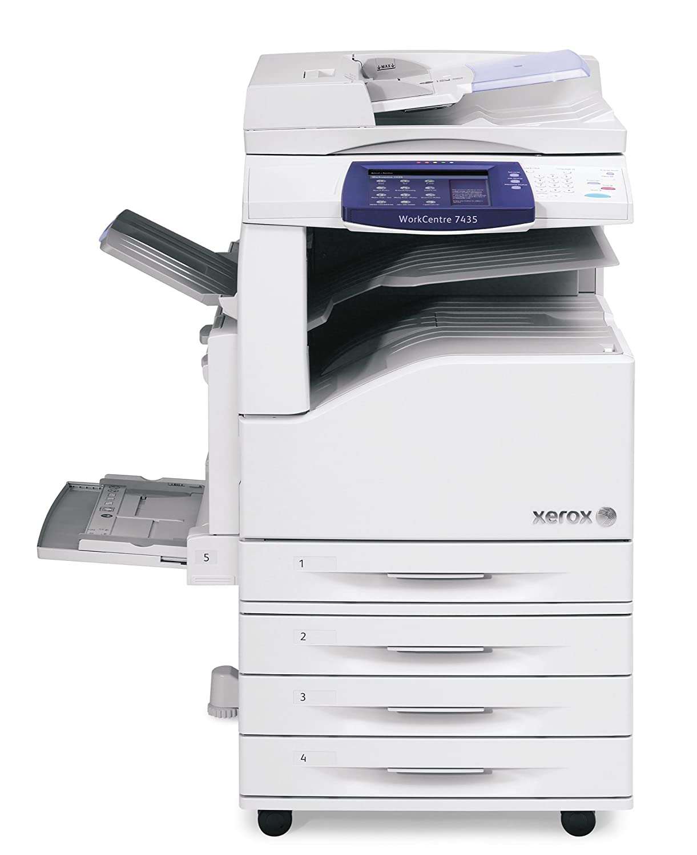 Amazon com xerox workcentre 7435 color multifunction copier electronics
