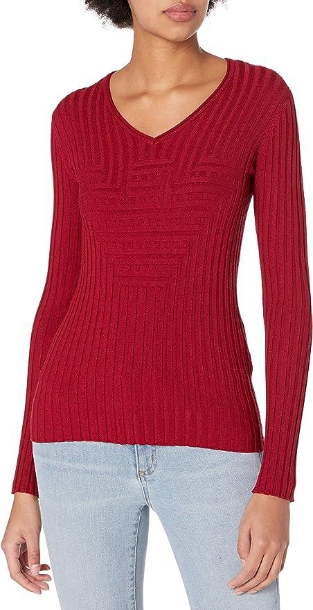 Emporio Armani 阿玛尼 女式V领针织毛衣 38码1.6折$32.12 海淘转运到手约¥274