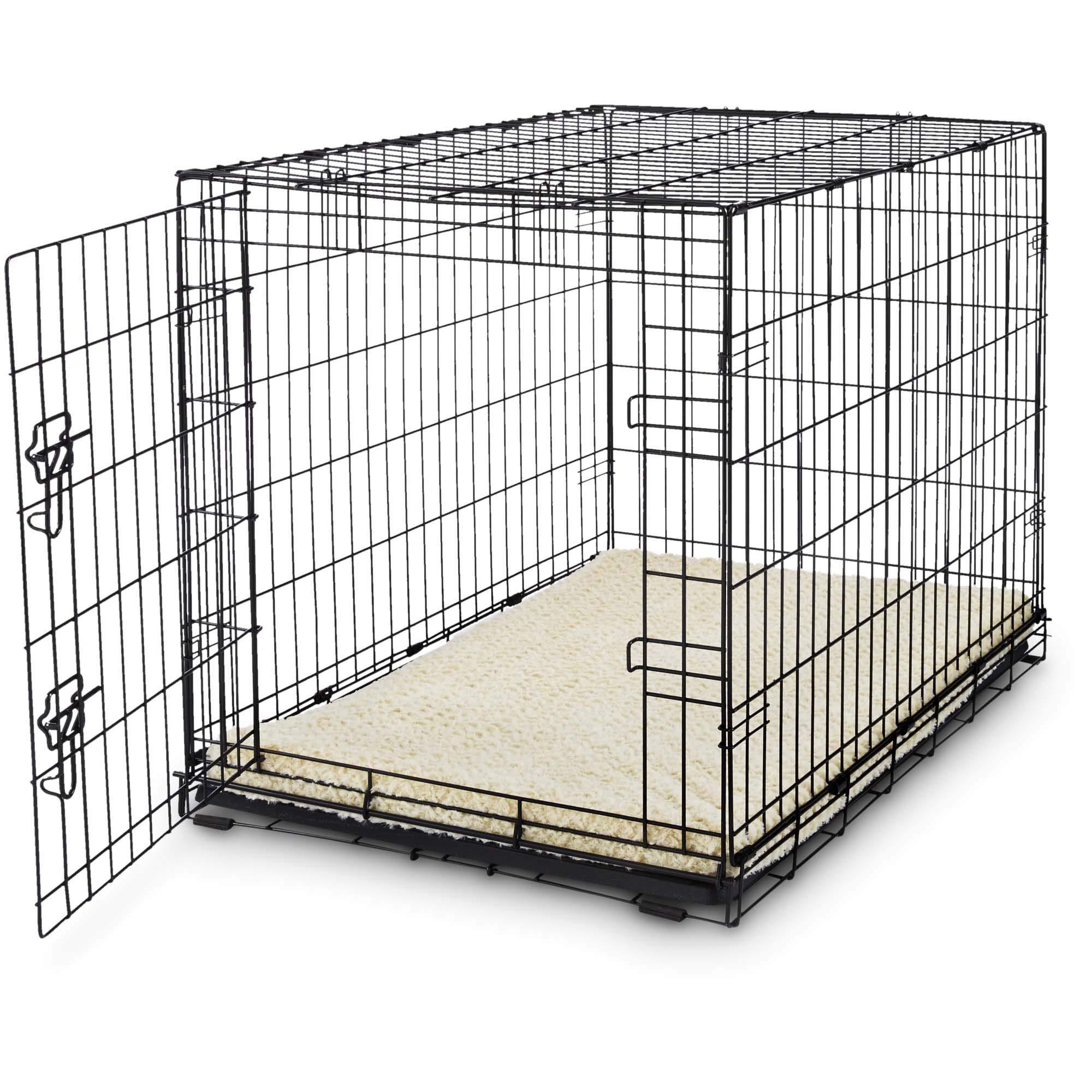 Petco Classic 1-Door Dog Crate, 48'' L x 30'' W X 32'' H, XX-Large, Black