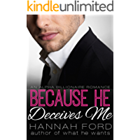 Because He Deceives Me (Because He Owns Me, Book Eight)