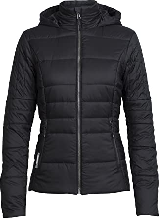 Sports Outdoors Vests Merino Wool Down Alternative Icebreaker Merino Womens Stratus X Hooded Vest