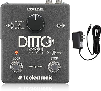 TC ELECTRONICS DITTO JAM X2 LOOPER POWER SUPPLY REPLACEMENT ADAPTER 9V