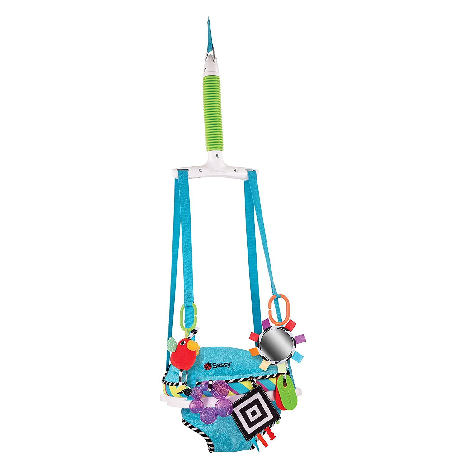 Sassy Inspire the Senses Doorway Jumper with Removable Toys Hamco Inc 70025