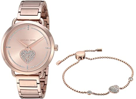99deb264a Michael Kors Women's Analogue Quartz Watch with Stainless Steel ...