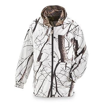 Amazon.com : Master Sportsman Men&39s Reversible Camo / Snow Jacket