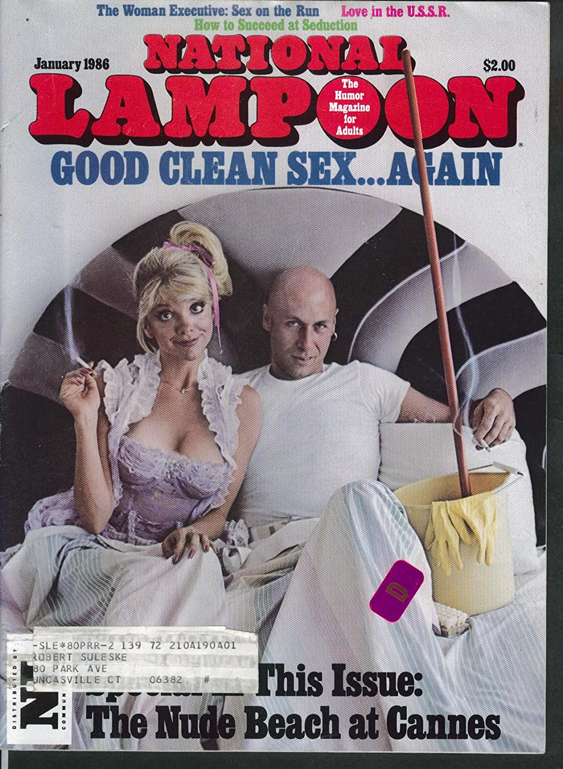 NATIONAL LAMPOON Mr Clean Ed Subitzky Soviet Sex 1 1986 at Amazon's  Entertainment Collectibles Store