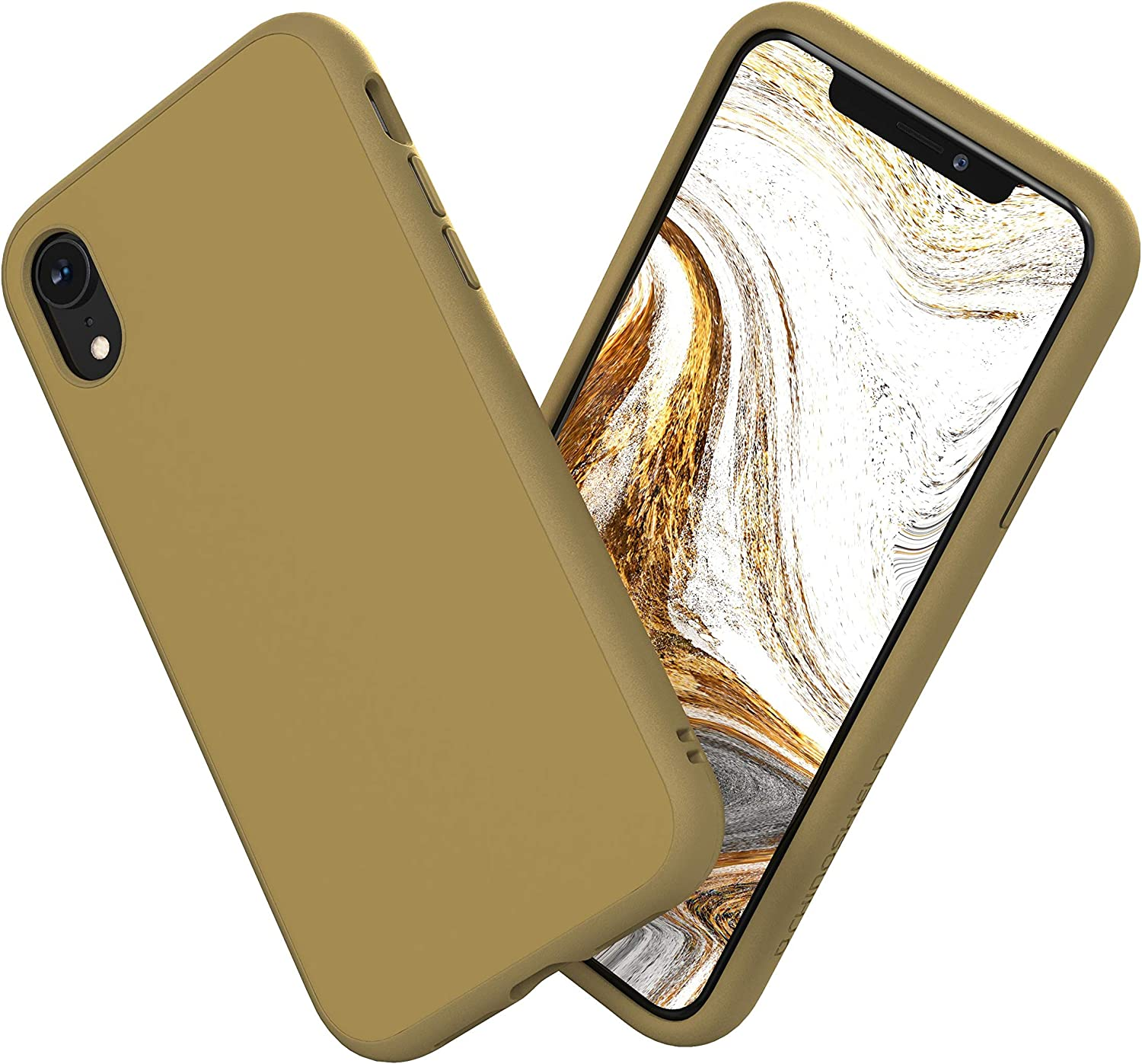 Amazon Com Rhinoshield Ultra Protective Phone Case Iphone Xr Solidsuit Military Grade Drop Protection Against Full Impact Supports Wireless Charging Slim Scratch Resistant Beige